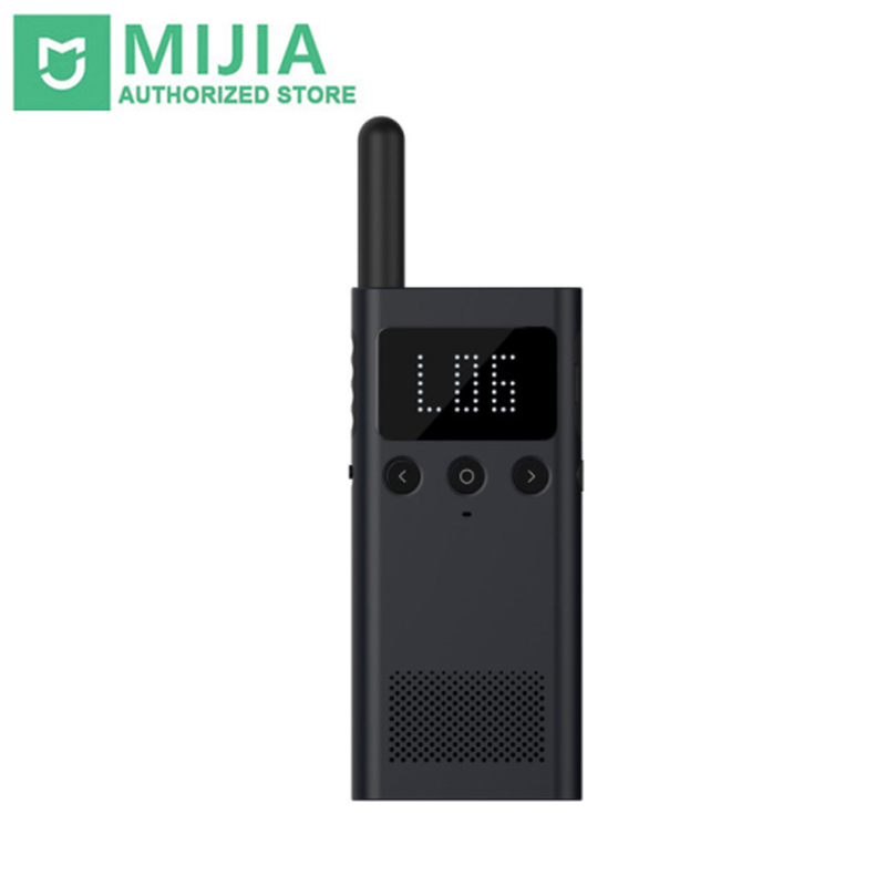 D'origine Xiaomi Mijia Smart WalkieTalkie 1 s 1 s FM Radio 5 Dayds Veille Téléphone Intelligent APP Emplacement Part Rapide équipe Parler