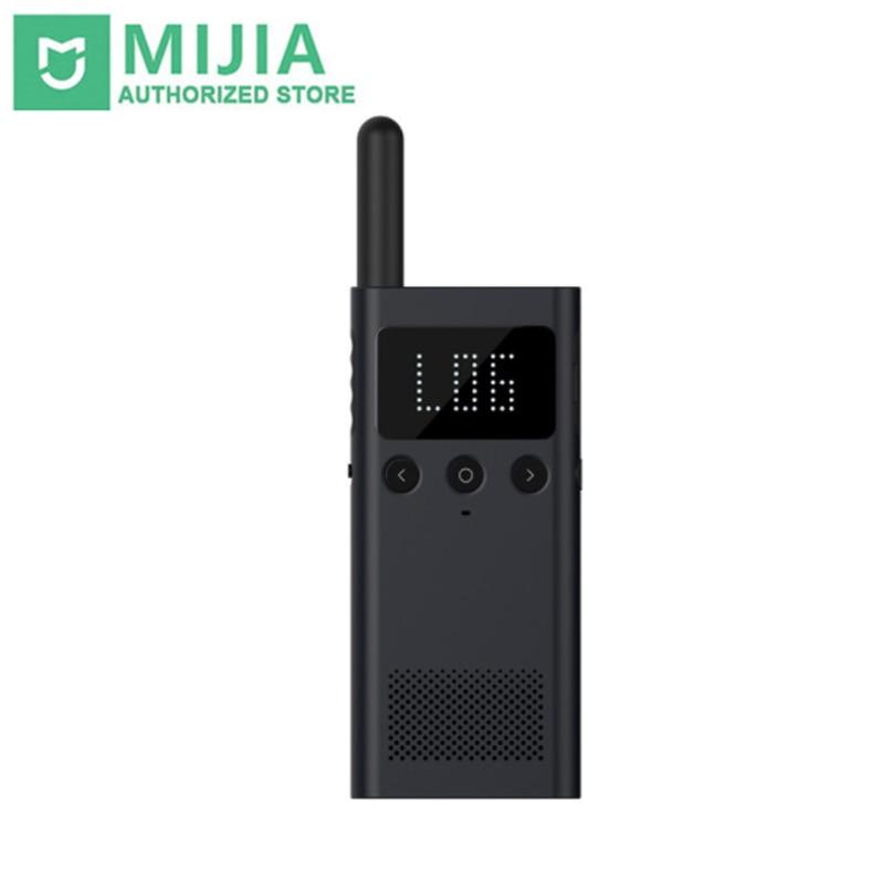 Original Xiaomi Mijia Smart WalkieTalkie 1 S 1 S Radio FM 5 jours en veille smartphone APP emplacement partager parler en équipe rapide