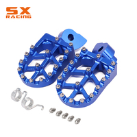 Motorcycle Aluminum Foot Pegs Footpeg Pedals FootRest For YAMAHA YZ85 YZ125 YZ250 YZF WRF 250 426 450 YZ 125X 250F 250FX 450FX