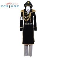 K Return of Kings Yatogami Kuroh Military Uniform Halloween Cosplay Costumes For Men