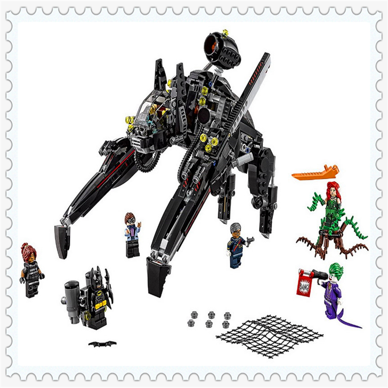 LEPIN 07056 Batman Series The Scuttler Model Building Block 775Pcs DIY Educational  Toys For Children Compatible Legoe lepin 22001 pirate ship imperial warships model building block briks toys gift 1717pcs compatible legoed 10210