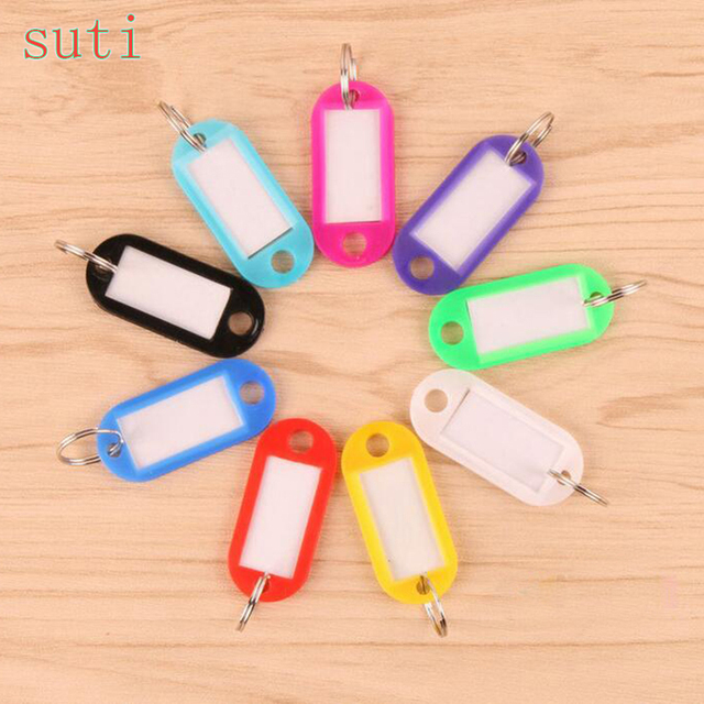 Suti 20PCS Best Hotel Numbered ABS Plastic Key Tags Keychain Key Chain Key Ring Key Chain Tags