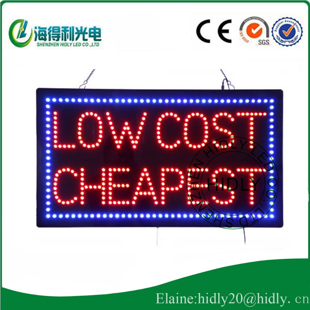 wholesale low cost cheapest 5mm lamp light led open sign widen used in any kind store led. Black Bedroom Furniture Sets. Home Design Ideas