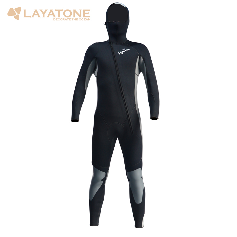 Wetsuit Men 5mm Neoprene Scuba Diving Wetsuits Surfing Surf One-Piece Full Body Long Wet suit With Hood Front Zipper A1614 car dvd gps android 8 1 player 2din radio universal wifi gps navigation audio for skoda octavia fabia rapid yeti superb vw seat