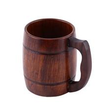Eco-Friendly Wooden Beer Mug
