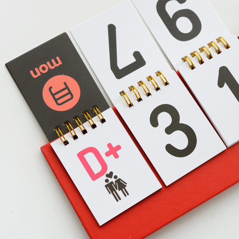 day calendar counter