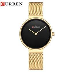 CURREN Для женщин смотреть новый кварцевые Лидирующий бренд Роскошные модные Наручные часы Дамы подарков relogio feminino 9016