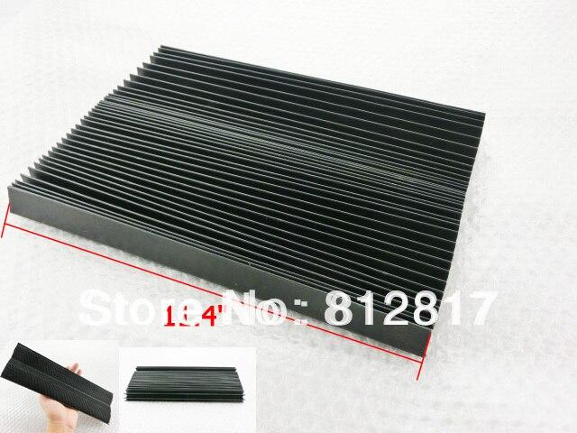 "Flexible Organ Shaped 39.4"" Long Plastic Dust Cover for CNC Machine"