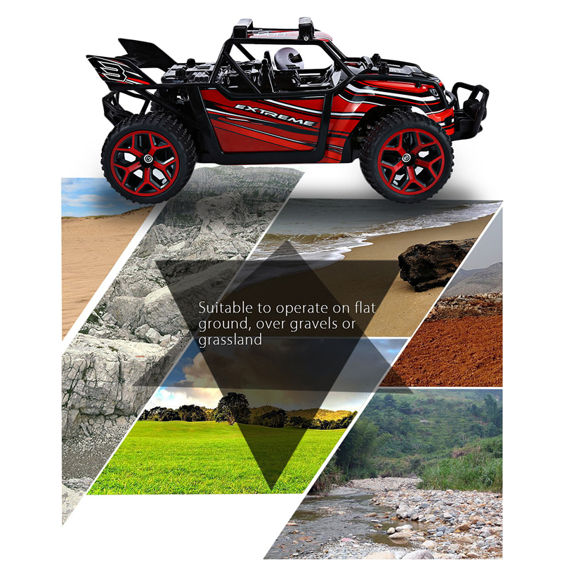 Professional RC Speed Buggy Fashion RC Car 20km/h GS04B <font><b>X</b></font> - Knight <font><b>2</b></font>.4G 4 Wheel Drive Big Foot Remote Radio Control Rock Crawler