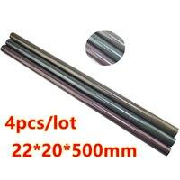 4pcs 22MM OD X 20MM ID 3 Color Carbon Fiber Tube 3k 500MM Long With 100
