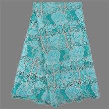 Graceful Afrikanische stickereien wasserlösliche spitze stoff Französisch schnur spitze textil für abendkleid MWL61 (5 yards/lot)