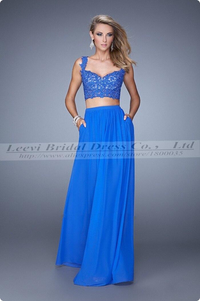 6015c3fe54 vestidos de fiesta azul y blanco