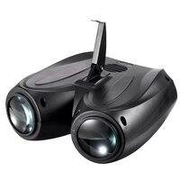 Portable Music Auto/Sound Actived 128 LED RGBW Lights Laser Stage Effect Lighting Club Disco DJ Party Bar KTV Wedding Christmas