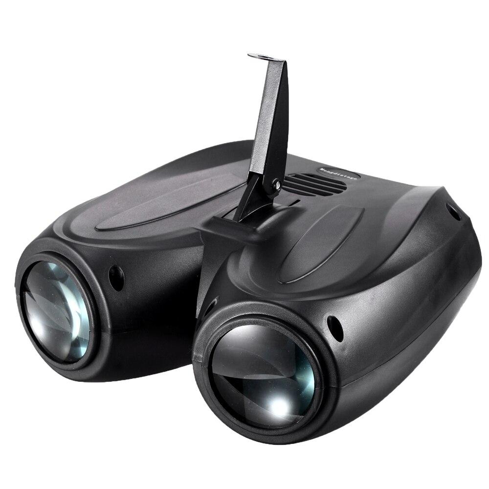 Tragbare Auto/Sound Actived 128 Led-rgbw-leuchten Laser Bühneneffektbeleuchtung Club Disco DJ Party Bar KTV hochzeit Weihnachten