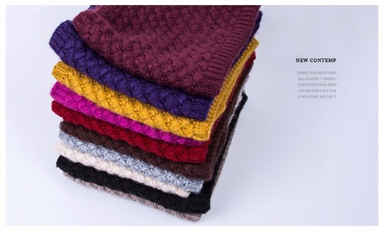 Зимний шарф для женщин, мужчин, детей, утолщенный шерстяной воротник, шарфы для девочек, шейный шарф, хлопок, унисекс, вязаный шарф-кольцо