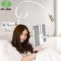 Alisuber 120CM Long Arm Lazy Phone Stand Holder Flexible Desk Bed Phone Stands Mount 360 Rotate