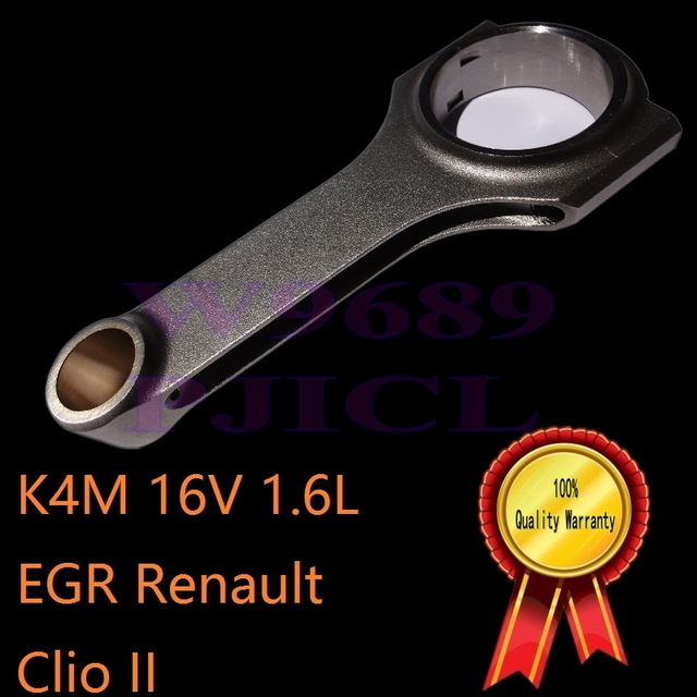 US $59 99 |k4m forged connecting rod MPFI EGR engine tuning manifold racing  lighter strong renault clio 16V cylinder gasoline speed racing on