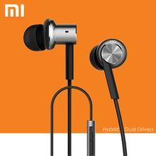 Original xiaomi mi iv híbrido auriculares in-ear con cable de control con Mic para Android iOS Móvil teléfono MI3 MI4 MI5 redmi