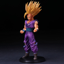 25cm Super Saiyan MSP Gohan Dragon Ball Z Action Figures Master Stars Piece Dragonball Figurine Collectible Model Toy Figures цена