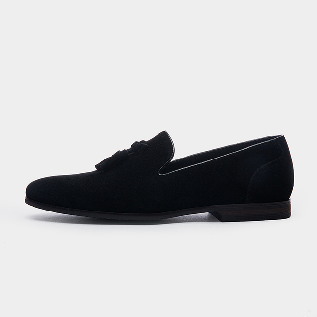 Tassel Brand Men Casual Suede Loafers