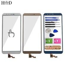 โทรศัพท์มือถือ Touch Screen สำหรับ Huawei Honor 9 Lite LLD L22A LLD L31 เซ็นเซอร์หน้าจอสัมผัส TouchScreen กระจกด้านหน้าชิ้นส่วนเครื่องมือกาว