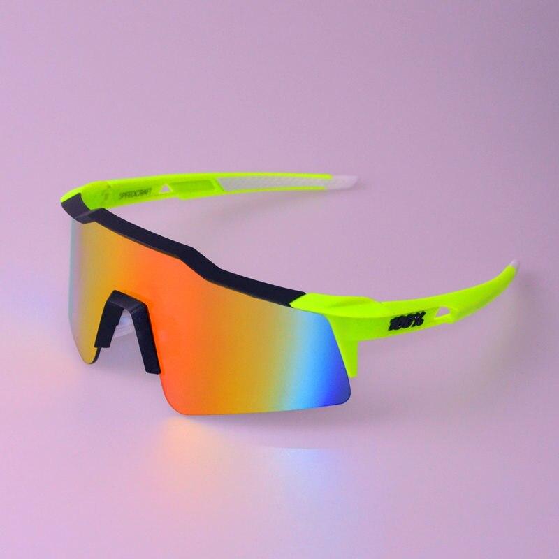 Prix pour 100% SpeedCraft SL Court Cyclisme Cyclisme lunettes de soleil lunettes De Vélo de Course De Pêche sport Lunettes De Soleil bicicleta Gafas ciclismo