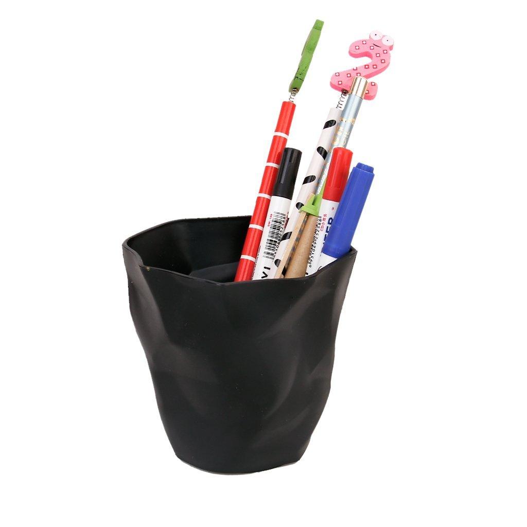 Affordable Pencil Holder Pencil Age Pot Desktop Organizer Plastic Black Scale 1:6