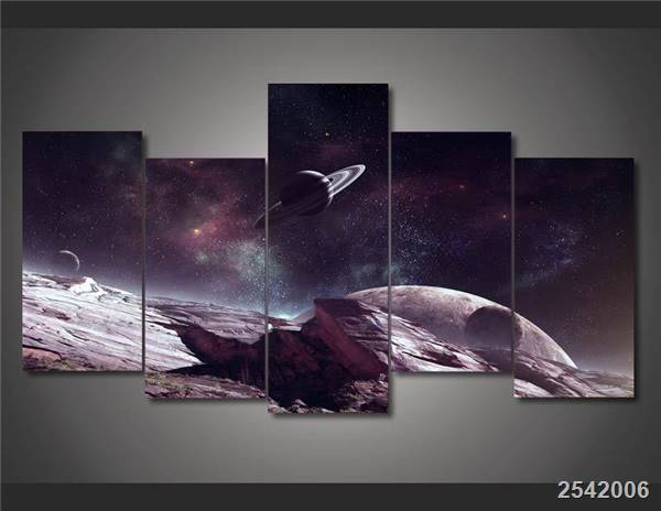 Hd Printed Universe Planet Painting On Canvas Room Decoration Print Poster Picture Canvas Free Shipping/Ny-1585 Christmas gift