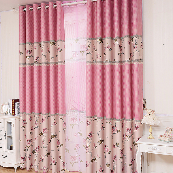 2015 New home decor night curtain for living room the bedroom ...