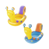 Inflatable Baby Snail Boat Pool Float Swim Water Toys Fun Floats Pool Buoy Ride on Raft Boia Piscina