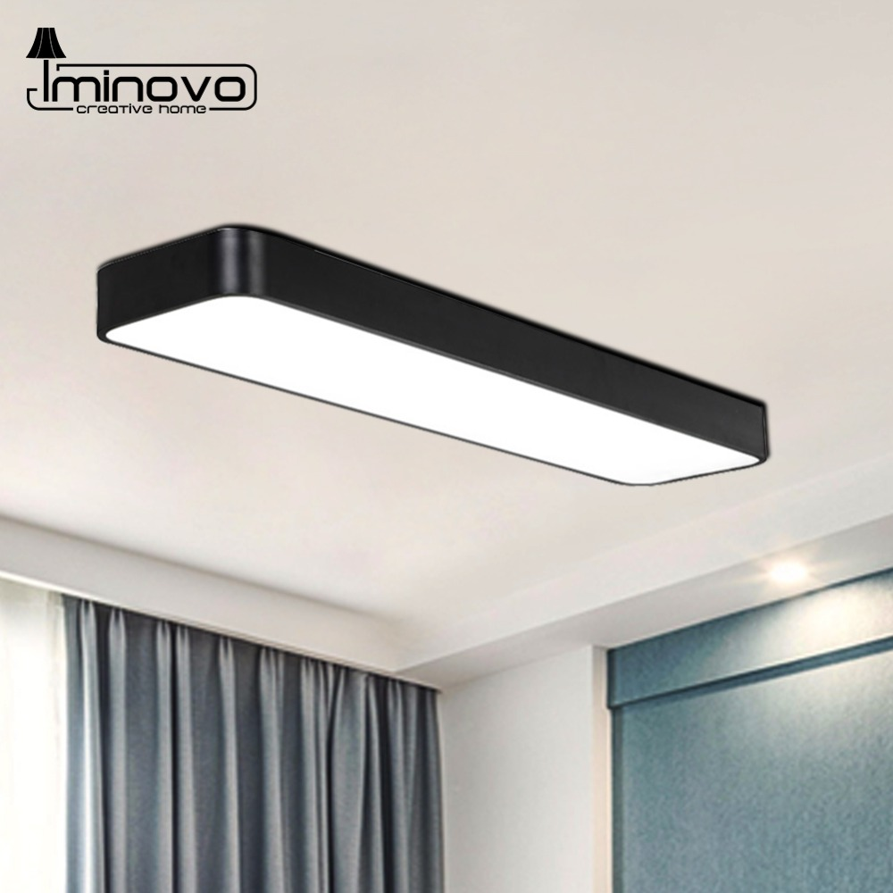 Modern Led Ceiling Light Lamp Panel Rectangle Hall Surface Mount Flush Lighting Fixture Bedroom