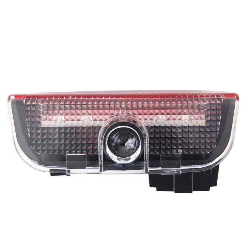 Светодиодный логотип для SKODA из 2 предметов светодиодный двери автомобиля Добро пожаловать логотип марки автомобиля 3D Тень Свет проектор для Skoda VW Superb