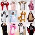 Adultos stitch pikachu jirafa tiger cat onesie unicornio pijama panda mujeres pijamas cosplay de la historieta onesies animales ropa de dormir