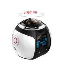 360 Degree Camera VR 4K Wifi Video Mini Panoramic 2448*2448 HD Panorama Action 30m Waterproof Sports Driving Cam 2017