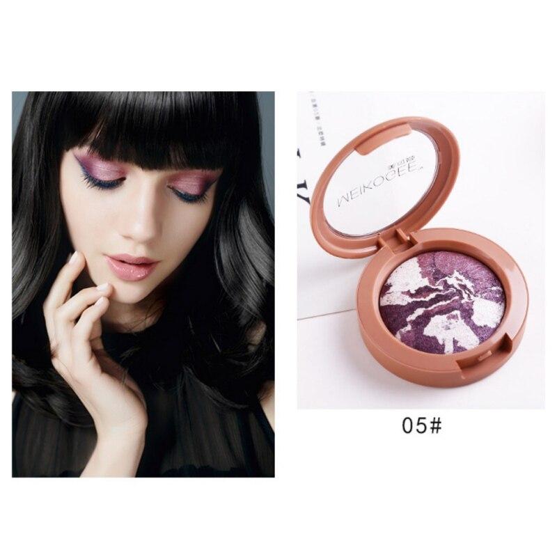 Charming Glazed Natural Matte Shimmer eye shadow powder baked glitter shimmer eye shadow palette full professional makeup kit