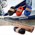 LA de carreras-SAMURAI 2.5 M Frente Lip Bumper Protector Recorte Falda De Goma protector de la tira tira de goma labio delantero para honda para bmw etc