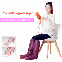Multi Function Air Pressure leg Massager Electric Foot massager leg beauty apparatus physiotherapy air wave massage apparatus