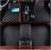 Good mats! Custom special floor mats for BMW X1 F48 2017 2016 durable waterproof carpets for BMW X1 E84 2015 2011,Free shipping