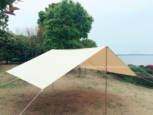 Japan Warehouse Available And Promotional Price For Only Waterproof Cotton Canvas Tent Awning Outdoor Shelter
