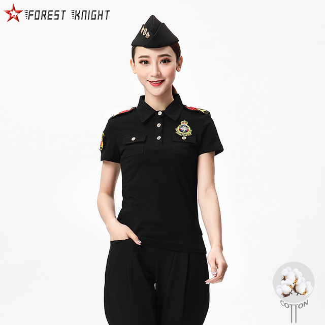 Casual Polo Shirt Women Outdoor Camping Trekking Hiking Military Tactical Tops Fashion Top Quality Cotton Shirts Spring Summer