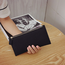2018 Korean-Style New Style Ms Hand Purse Card Holder Nubuck Leather Long Wallet Hot Selling Bags & Shoes