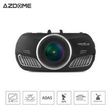 DAB201 A12 Viruta de Ambarella HD 1440 p 30fps Cámara Del Coche DVR Ciclo de Grabación Grabadora de vídeo Con el g-sensor HDR ADAS Dash Cam H40