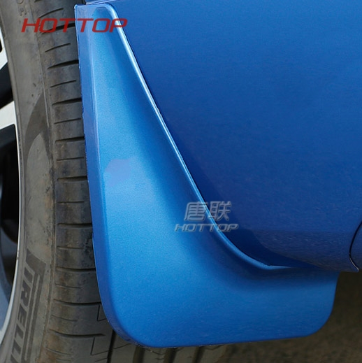 купить Car Styling Accessories 4PCS Plastic Front/Rear Mudflaps Mud Fender Mud Splash Guard Trim For VOLVO XC60 2018 по цене 3671.87 рублей