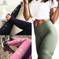 2017 Spring Women Sporting Leggings Print Geometry High Waist Quick Dry Elastic Pant Workout Leggings Fitness Trousers For Women