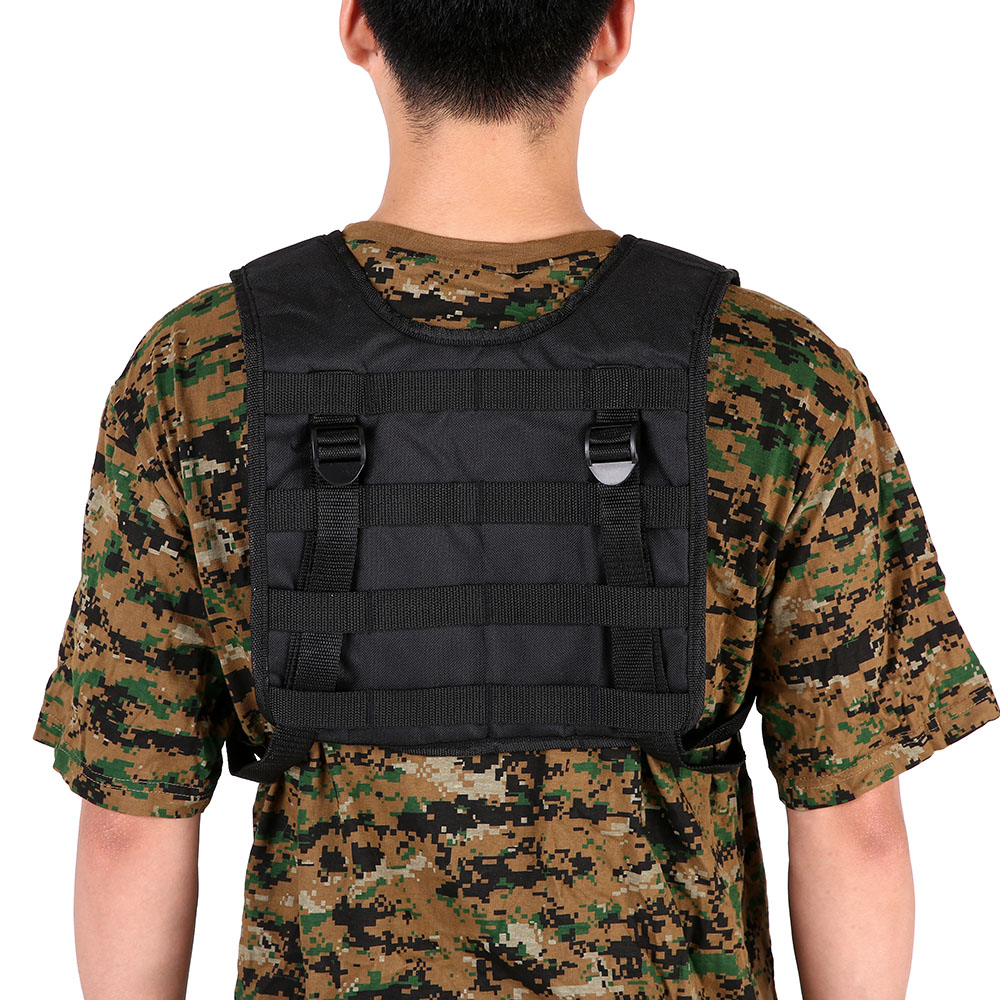 Hunting Module Molle Combat Plate Carrier Tactical Vest Airsoft Outdoor Black