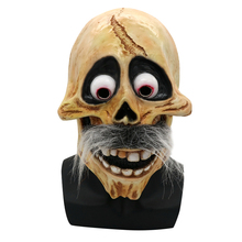 Scary Halloween Skull Latex Mask Full Head Movie CoCo Hector Grandpa Cosplay Party Mask Props Costume Helmet