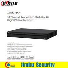 Dahua XVR 32Ch Video Recorder XVR5232AN 1080P Support HDCVI/AHD/TVI/CVBS/IP video inputs Support 2 SATA HDD