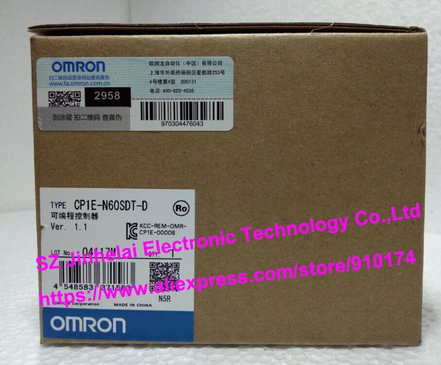 все цены на 100% New and original  CP1E-N60SDT-D  OMRON PLC CONTROLLER онлайн