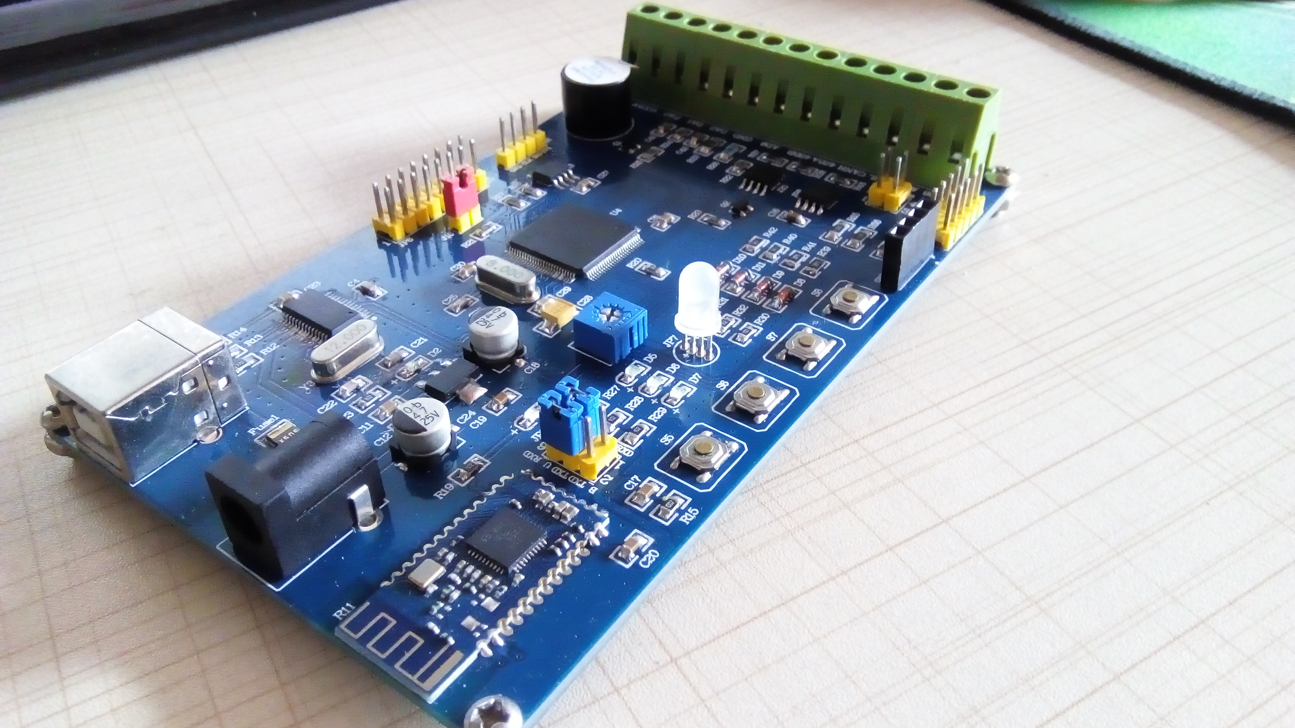 STM32 Development Board Upper PC Development Board |Modbus Development Board |VB6.0 Upper Computer kubiak jacek z xenopus development