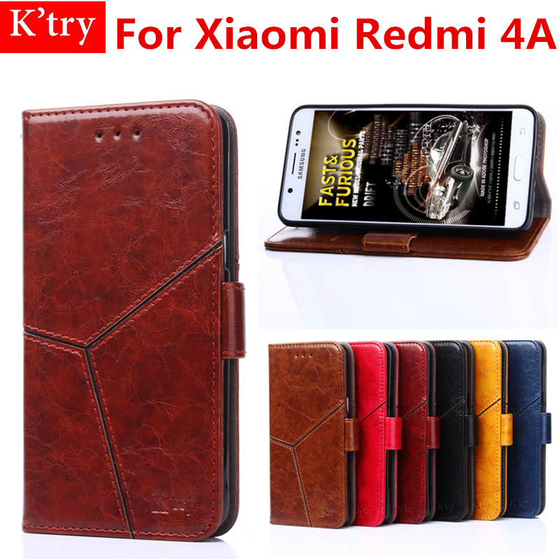 Phone Cases For Xiaomi Redmi 4A Luxury Wallet pu Leather Case Stand Flip Card Hold Phone Cover Bags For Xiaomi Redmi 4 A case